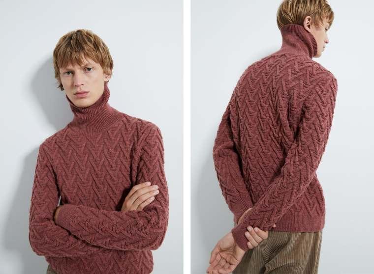 sweater de estrutura. 39,95